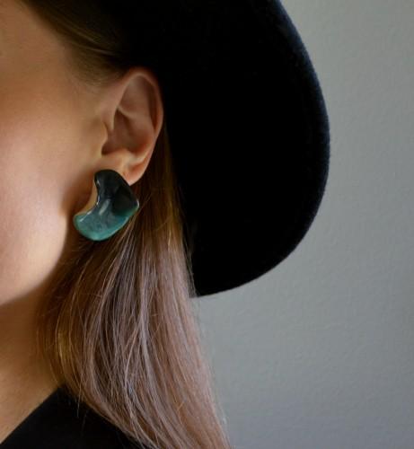 Earrings 'Cliffs'