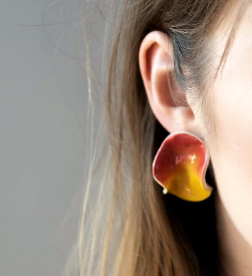 Earrings 'Flames'