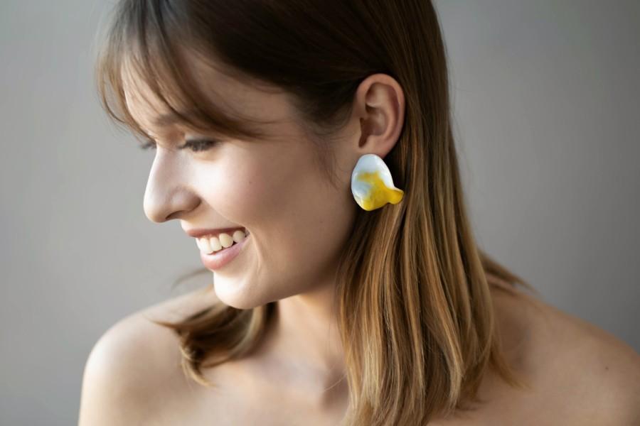 Earrings 'Clear sky'