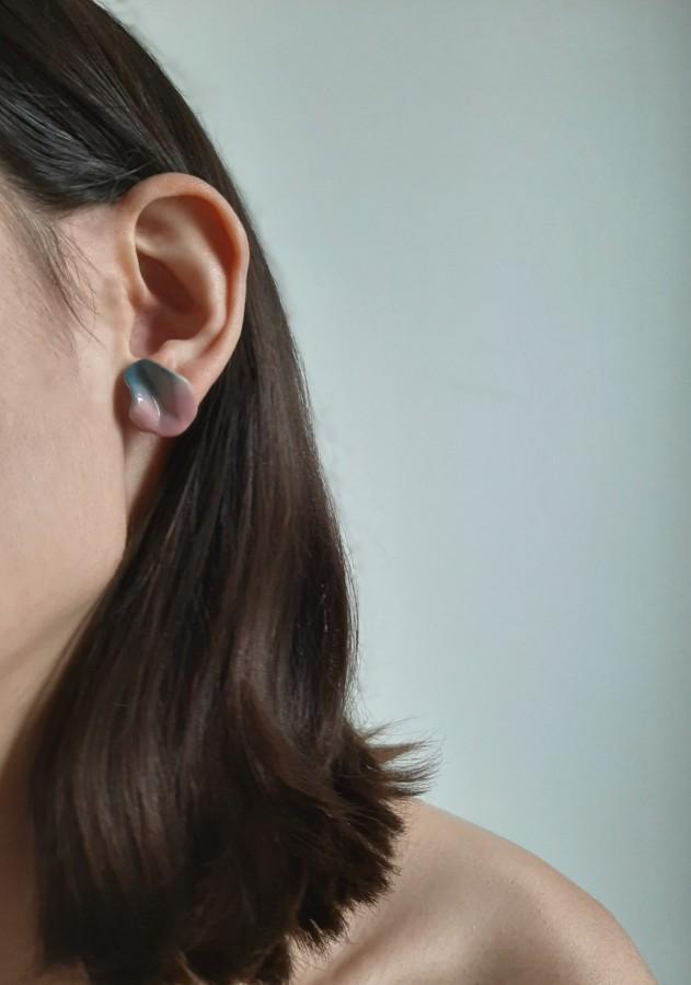 Mini earrings 'Sunset'